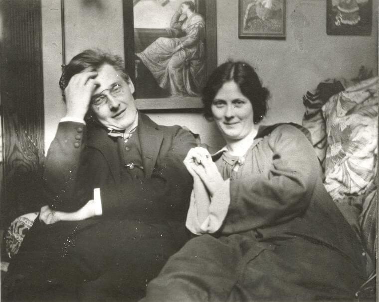 Isadora Duncan et son époux Gordon Craig