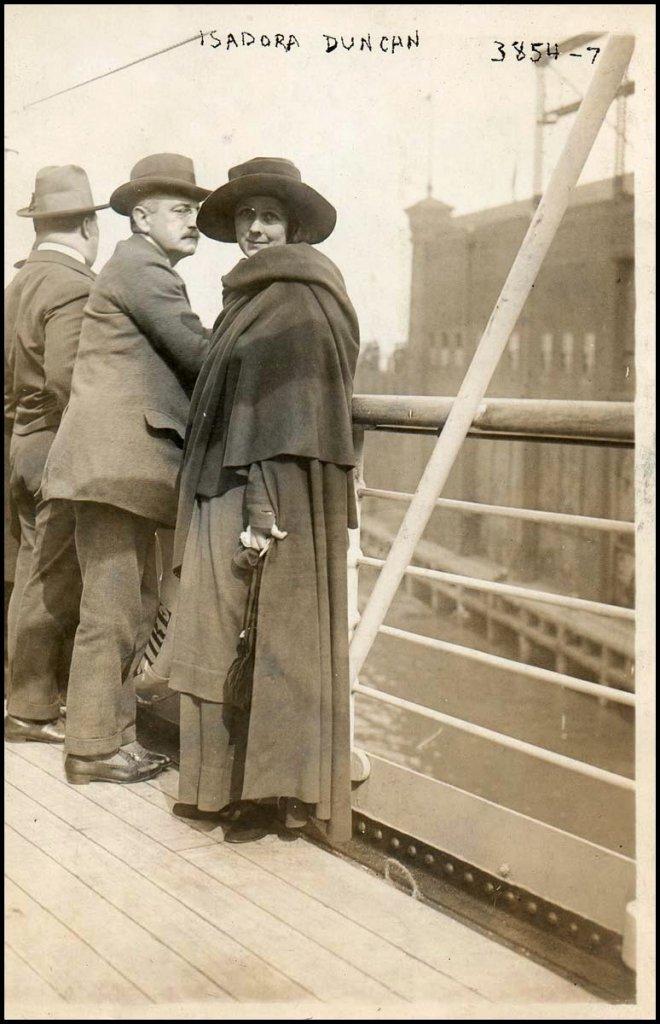 Isadora Duncan et Paris Singer
