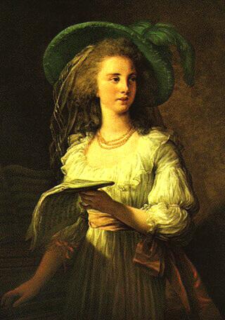 Portrait de Gabrielle de Polignac
