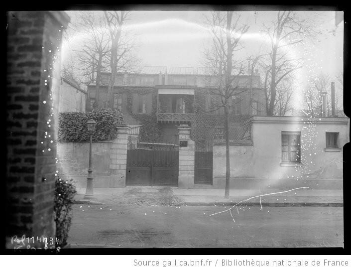 La maison de Neuilly sur Seine d'Isadora Duncan