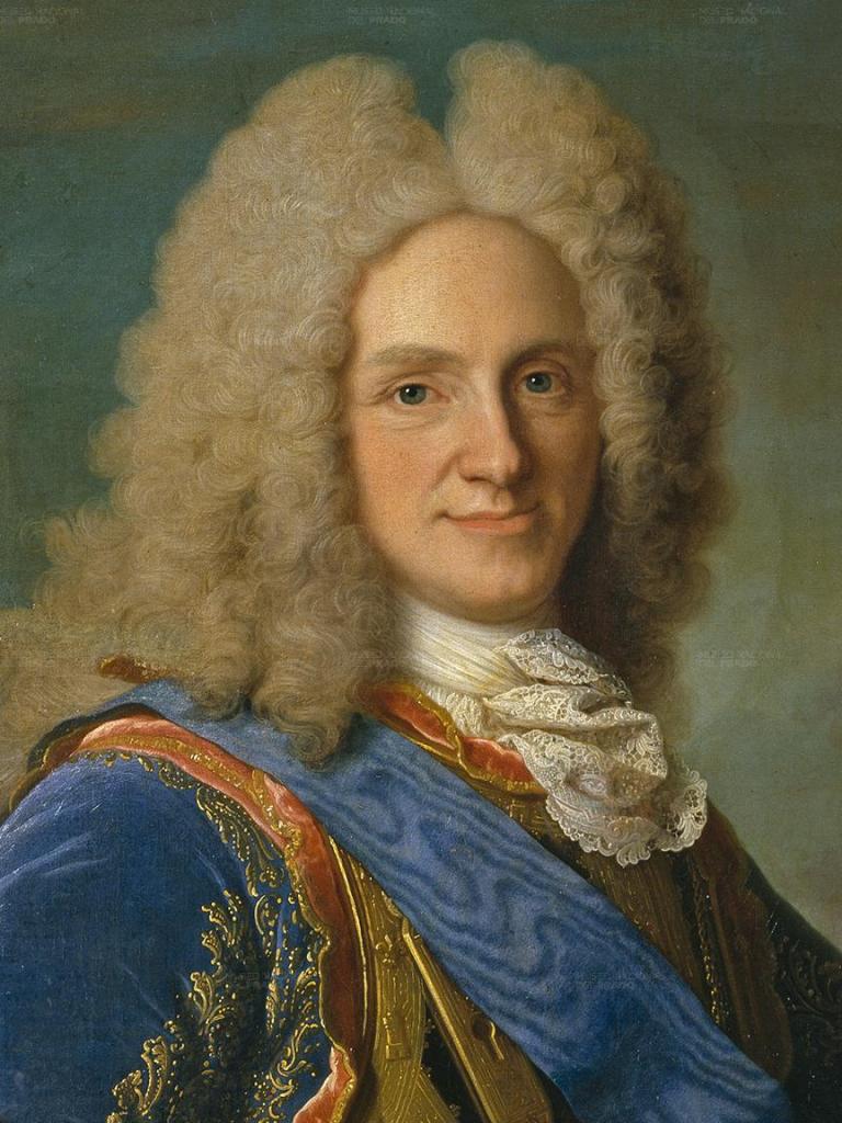 Philippe, duc d'Anjou, devenu Philippe V, Roi des Espagnes. Portrait par Jean Ranc.