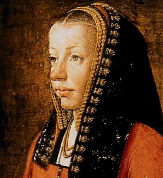 Portrait Anne de Bretagne