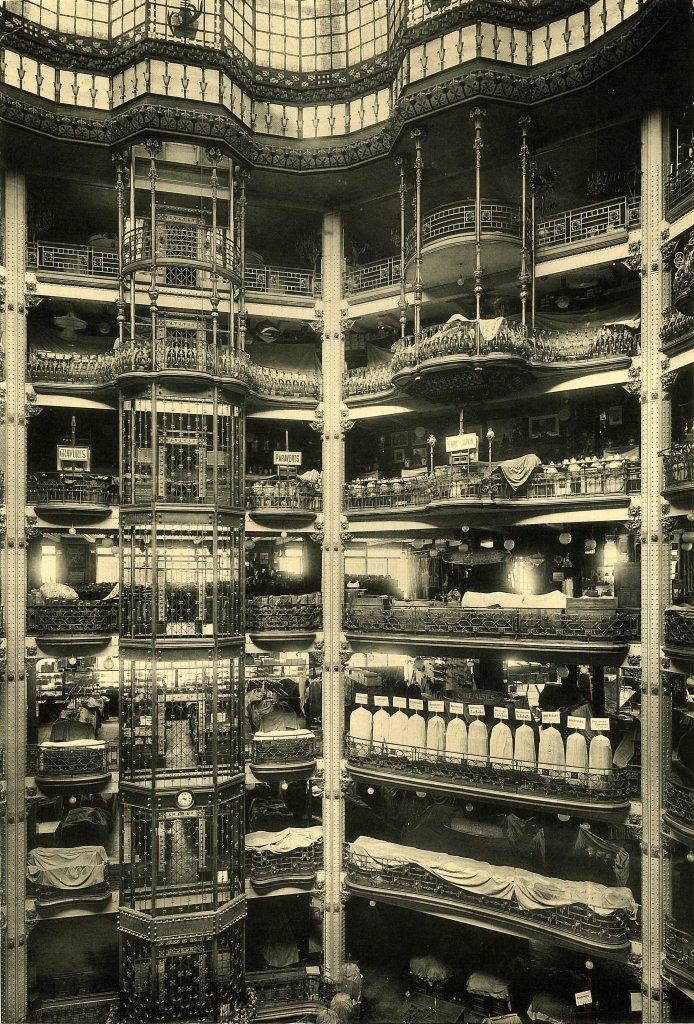 hall art nouveau