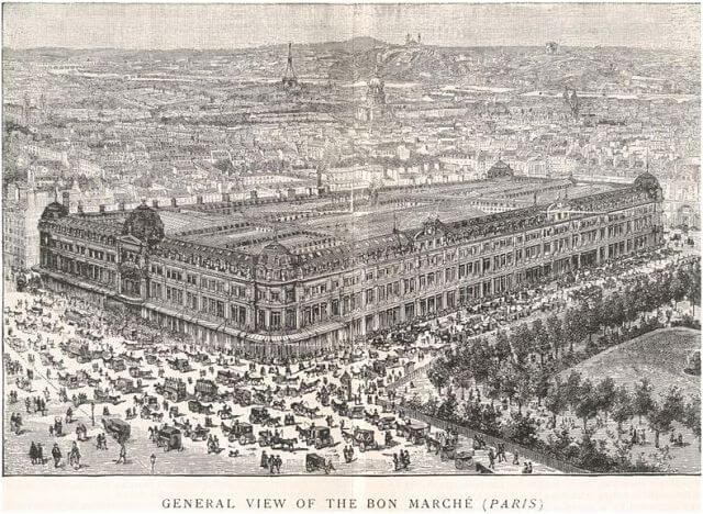 magasin Bon Marché Paris
