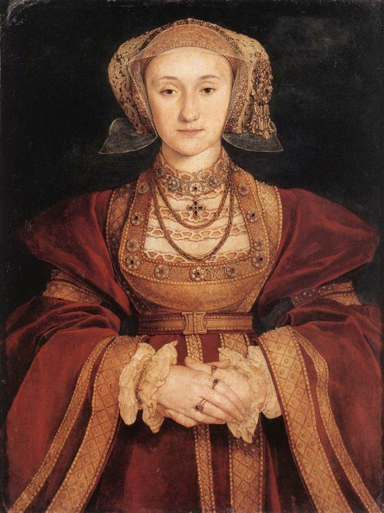 Anne de Cleves epouses henri viiii