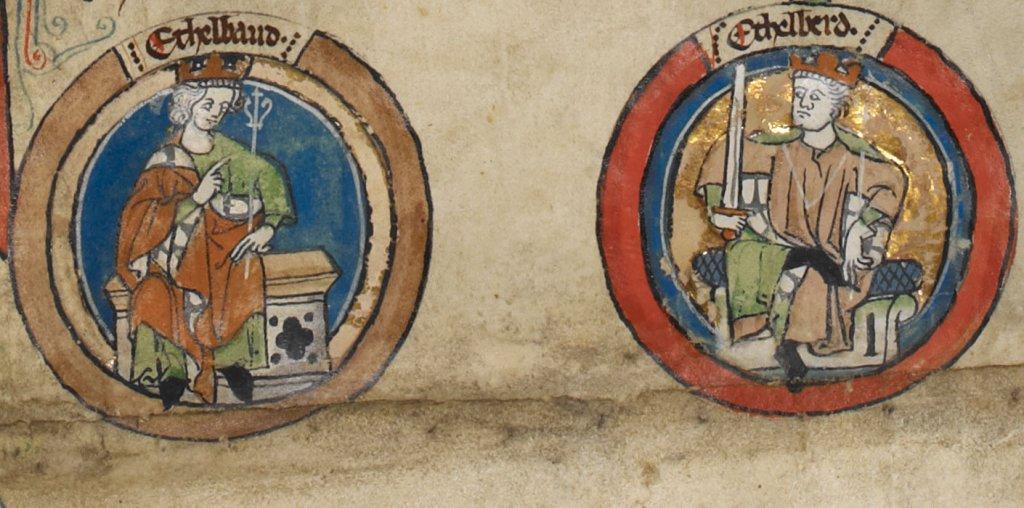 Ethelbald Ethelberht rois angleterre