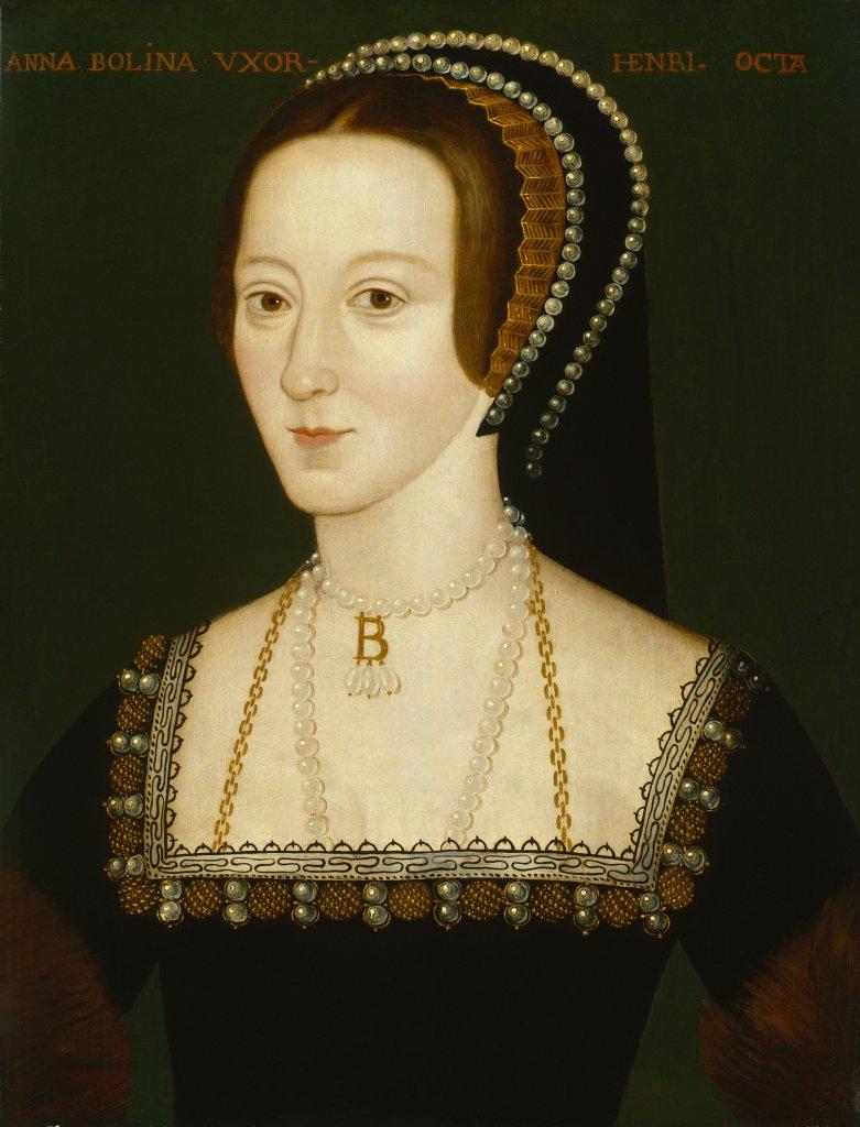 Anne Boleyn seconde des épouses d'Henri VIII