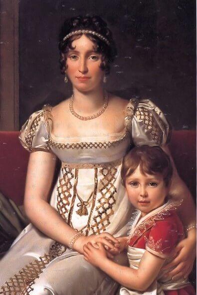 hortense et son fils napoleon