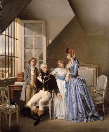josephine et ses enfants