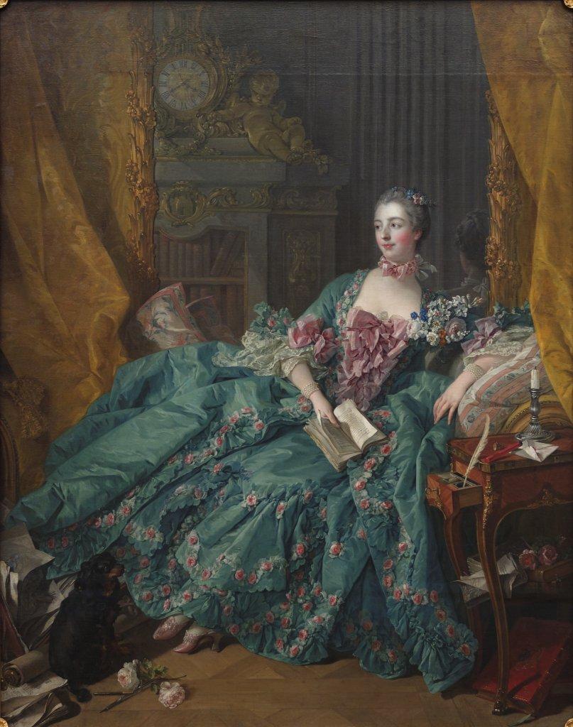 madame pompadour favorites louis XV