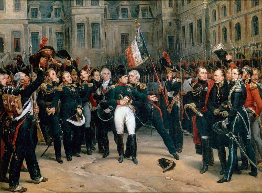 adieux Napoléon Fontainebleau