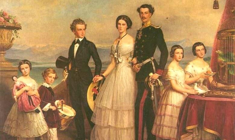 Sophie-Charlotte en Bavière enfance